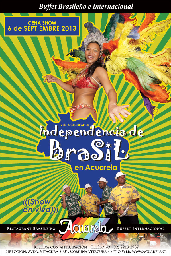 Independencia de Brasil 2013 en Acuarela