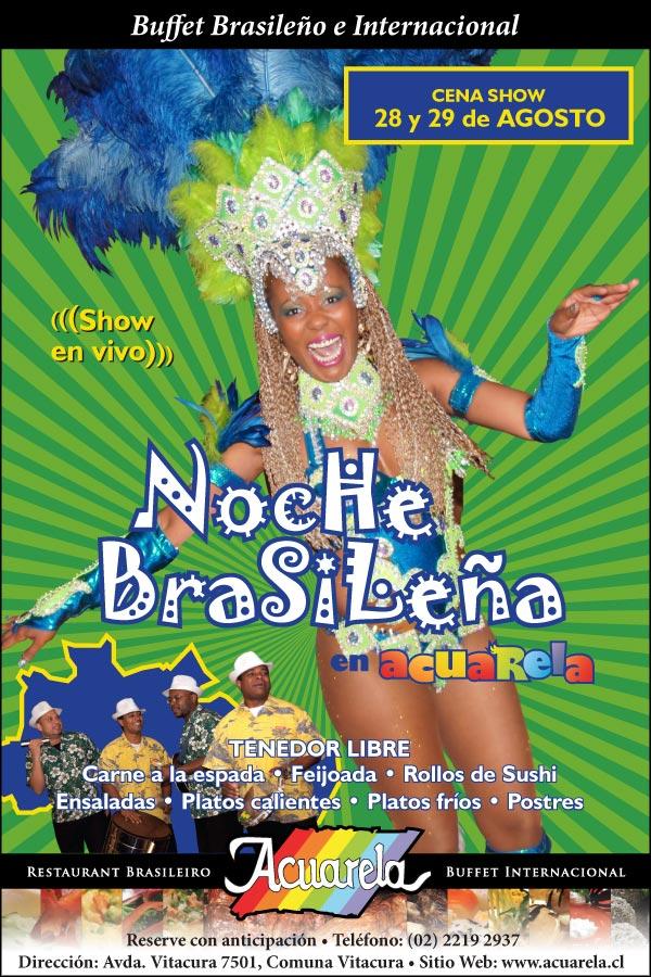 Cena Show en Acuarela