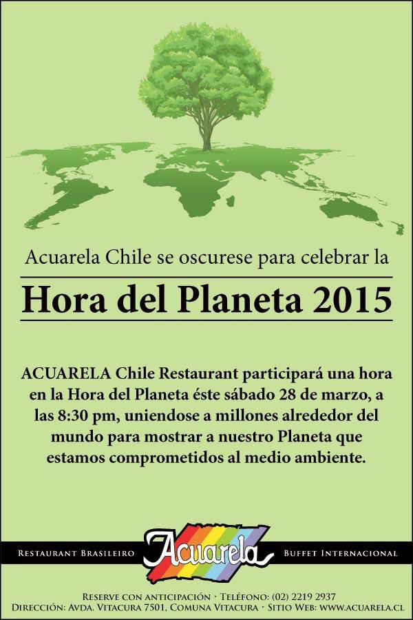 Hora del Planeta en Acuarela - Marzo 2015