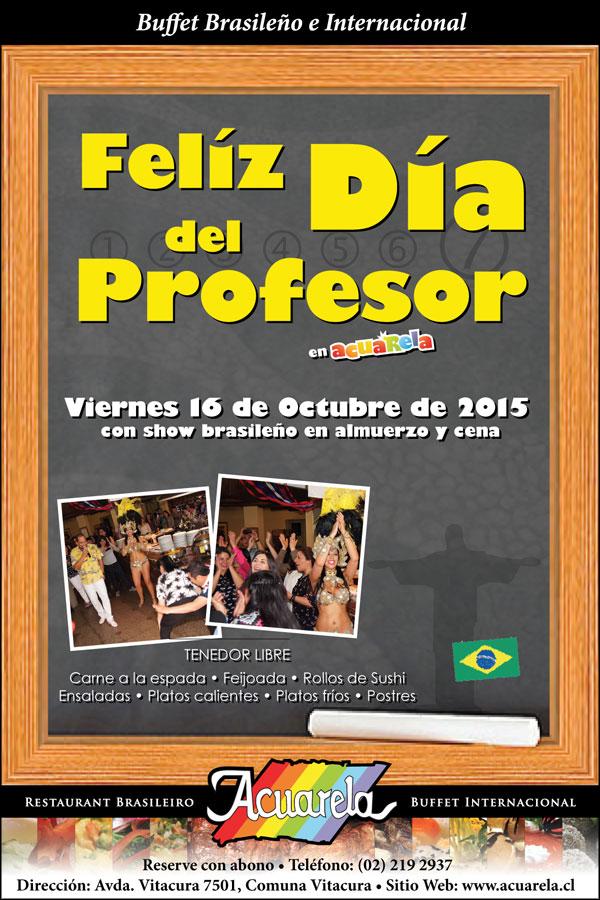 Celebracion del D�a del Profesor en Acuarela