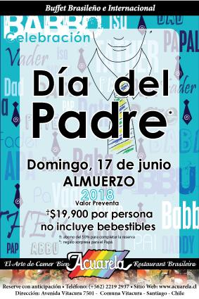 Dia del Padre en Acuarela